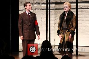 Aaron Krohn and Gayle Rankin - Opening night curtain call for Broadway's Cabaret at Studio 54. - New York, New...