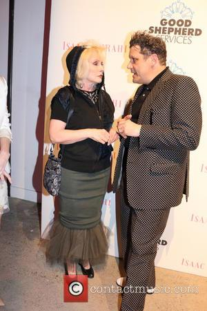 Debbie Harry and Isaac Mizrahi