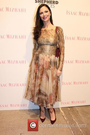 Georgina Chapman - Good Shepherd Services Spring Party Hosted By Isaac Mizrahi - New York, New York, United States -...