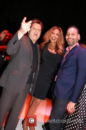 Isaac Mizrahi, Wendy Williams and Arnold Germer