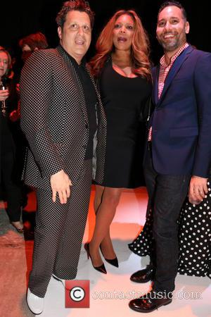 Isaac Mizrahi, Arnold Germer and Wendy Williams