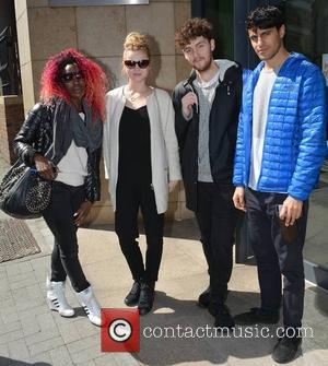 Sharna Bass, Grace Chatto, Jack Patterson and Amin Smith - Clean Bandit - Ireland's 2014 Eurovison entry Kasey Smith at...