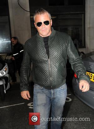 Matt Le Blanc - Matt Le Blanc arrives at Radio 2 - London, United Kingdom - Friday 25th April 2014