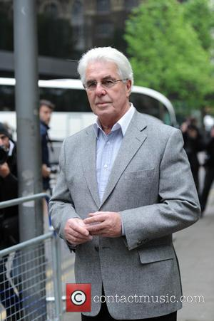 Max Clifford - Max Clifford arrives at Southwark Crown Court - London, United Kingdom - Friday 25th April 2014