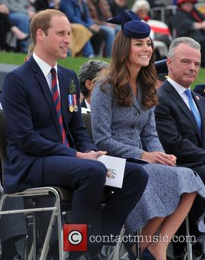 Prince William, Catherine Duchess Of Cambridge and Brendon Nelson