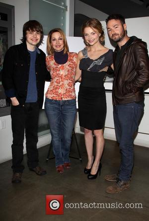 Brendan Meyer, Sharon Lawrence, Izabella Miko and Jude Tucker