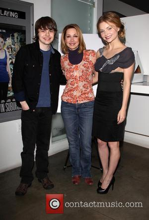 Brendan Meyer, Sharon Lawrence and Izabella Miko