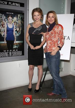 Izabella Miko and Sharon Lawrence