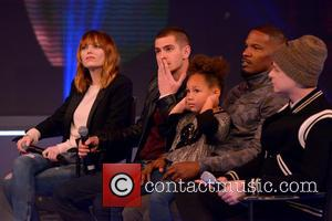 Emma Stone, Andrew Garfield, Jamie Foxx, Dane Dehaan and Annalise Bishop - The Cast of 'The Amazing Spider-Man 2' Visit...