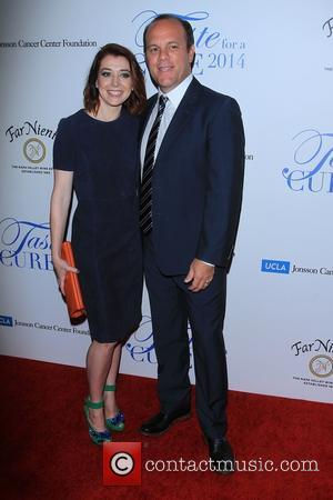 Alyson Hannigan and Tom Papa - 19th Annual Jonsson Cancer Center Foundation's 'Taste For a Cure' honoring Steve Mosko at...
