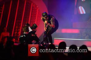 Wisin - Billboard Latin Music Awards 2014 held at Bank United Center - Show - Coral Gables, Florida, United States...