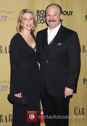 Linda Emond and Danny Burstein