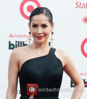 Carmen Villalobos - Billboard Latin Music Awards 2014 held at Bank United Center - Arrivals - Miami, Florida, United States...