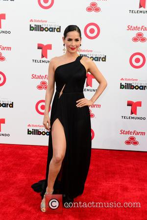 Carmen Villalobos - Presenters, performers and nominees meet fans and media across the red carpet at the Latin Billboard Arrivals...