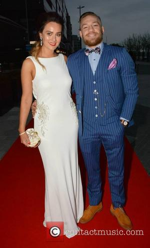 Dee Devlin and Conor McGregor - VIP Style Awards at The Marker Hotel - Arrivals - Dublin, Ireland - Friday...