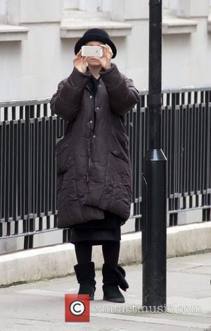 Joanne Froggatt - Filming of 'Downtown Abbey' in Central London - London, United Kingdom - Saturday 26th April 2014