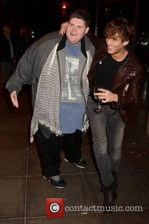 Paolo Nutini and Eddie Jones - Paolo Nutini, Michelle Heaton, Kasey Smith, and Jason Sherlock arrive for The Late Late...