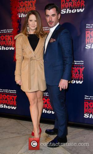 Bobby Fox and Guest - Rocky Horror Show opening night - Arrivals - Melbourne, Australia - Saturday 26th April 2014