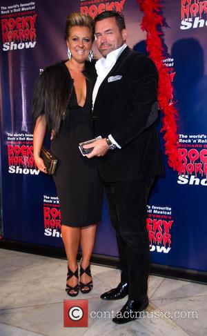 Chyka Keebaugh and Partner - Rocky Horror Show opening night - Arrivals - Melbourne, Australia - Saturday 26th April 2014