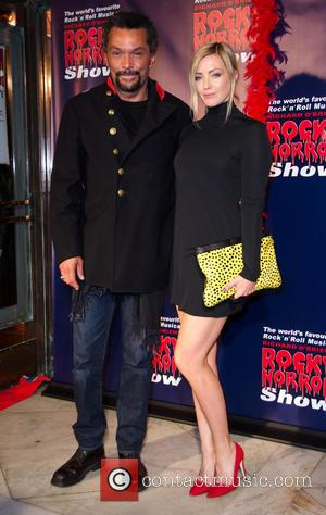 Jacinta Stapleton and Guest - Rocky Horror Show opening night - Arrivals - Melbourne, Australia - Saturday 26th April 2014