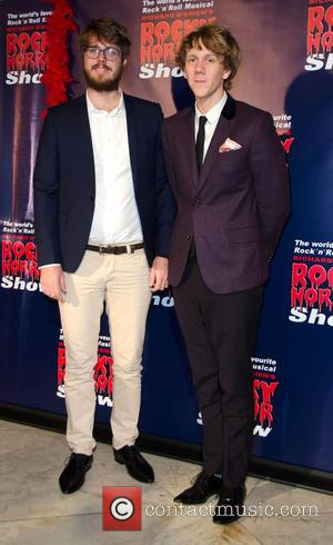 Josh Thomas and Guest - Rocky Horror Show opening night - Arrivals - Melbourne, Australia - Saturday 26th April 2014