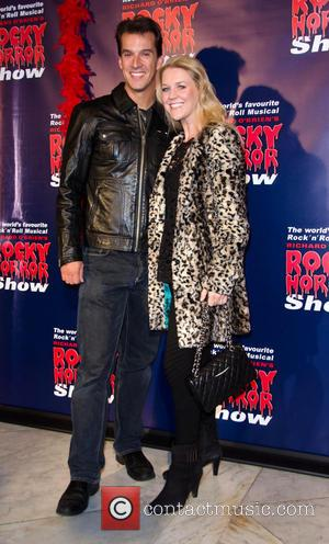 Lauren Newton and Partner - Rocky Horror Show opening night - Arrivals - Melbourne, Australia - Saturday 26th April 2014