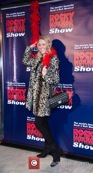 Lauren Newton - Rocky Horror Show opening night - Arrivals - Melbourne, Australia - Saturday 26th April 2014
