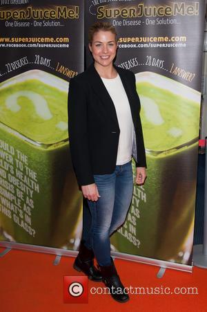 Gemma Atkinson - Super Juice Me! - UK film premiere held at the Odeon West End - Arrivals. - London,...