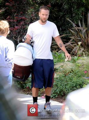 Mark Webber - Teresa Palmer spotted with newborn son Bodhi, stepson Isaac, and her mother, Paula Sanders, at Babies