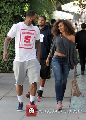 The Game - The Game leaves The Ivy - Los Angeles, California, United States - Saturday 26th April 2014