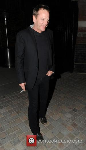 Kiefer Sutherland - Celebrities visit Chiltern Firehouse in London's Marylebone - London, United Kingdom - Saturday 26th April 2014