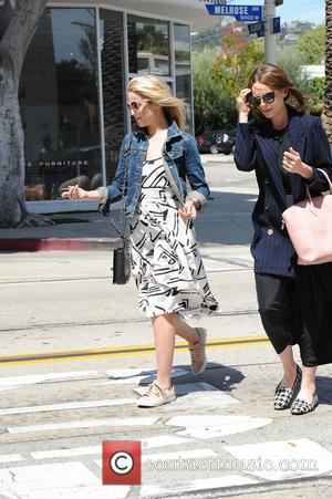 Dianna Agron - Dianna Agron and Carey Mulligan spotted out to lunch in West Hollywood - Los Angeles, California, United...