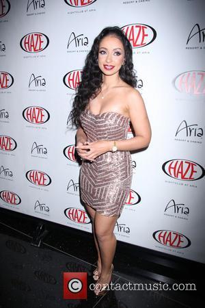Mya - Mýa hosts an evening at Haze Nightclub inside ARIA Resort & Casino Las Vegas - Las Vegas, Nevada,...