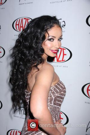 Mya - Mýa hosts an evening at Haze Nightclub inside ARIA Resort & Casino Las Vegas - Las Vegas, Nevada,...