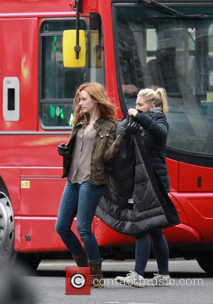 Emily Berrington - Cast shoot scenes for 24 Live Another Day in central London - London, United Kingdom - Sunday...