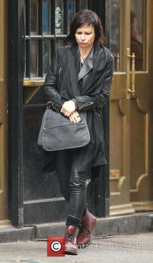 Mary Lynn Rajskub - Cast shoot scenes for 24 Live Another Day in central London - London, United Kingdom -...