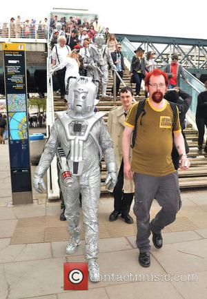 Cyberman and Doctor Who