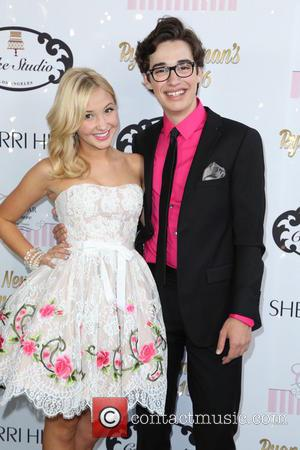 Audrey Whitby and Joey Brogg - Ryan Newman's glitz and glam sweet 16 birthday party - Los Angeles, California, United...