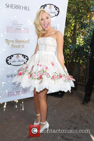 Audrey Whitby - Ryan Newman's glitz and glam sweet 16 birthday party - Los Angeles, California, United States - Sunday...