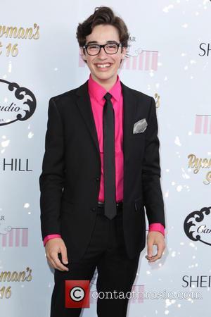 Joey Brogg - Ryan Newman's glitz and glam sweet 16 birthday party - Los Angeles, California, United States - Sunday...