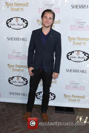 Luke Benward - Ryan Newman's glitz and glam sweet 16 birthday party - Los Angeles, California, United States - Sunday...