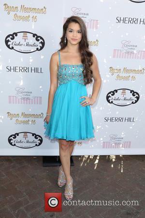 Paris MaryJo Berelc - Ryan Newman's glitz and glam sweet 16 birthday party - Los Angeles, California, United States -...