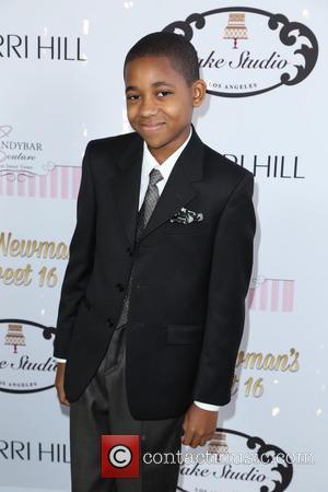 Tylen Jacob Williams - Ryan Newman's glitz and glam sweet 16 birthday party - Los Angeles, California, United States -...