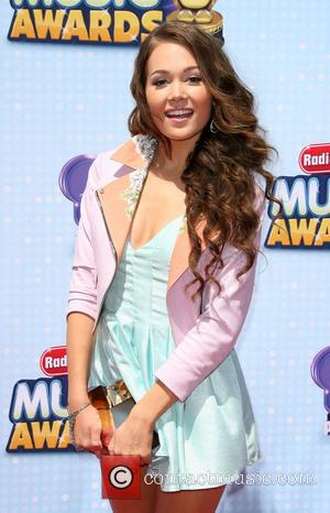 Kelli Berglund - Disney Channel Presents 2014 Radio Disney Music Awards held at the Nokia Theatre L.A. Live - Los...