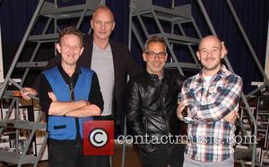 John Logan, Sting, Gordon Sumner and Joe Mantello