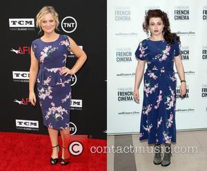 Amy Poehler and Helena Bonham-carter