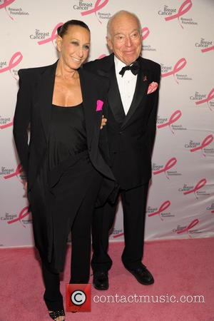 Donna Karan and Leonard Lauder - Breast Cancer Research Foundation - Hot Pink Party at the Warldorf Astoria - New...