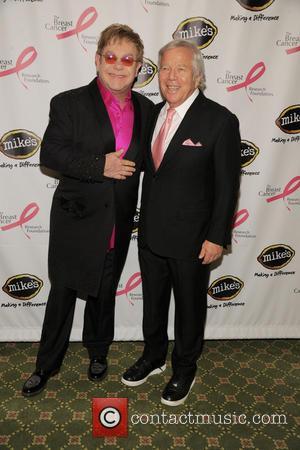 Elton John and Bob Kraft