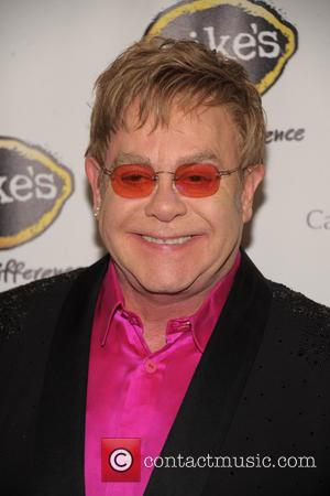 Elton John - Breast Cancer Research Foundation - Hot Pink...