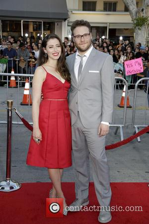 Lauren Miller and Seth Rogen - World premiere of Universal Pictures 'Neighbors' at Regency Village Theater in Westwood - Los...